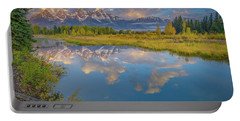 Grand Teton Morning Reflection Portable Battery Charger