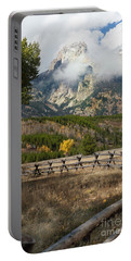Grand Teton National Park, Wyoming Portable Battery Charger