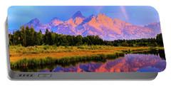Grand Teton Sunrise Portable Battery Charger