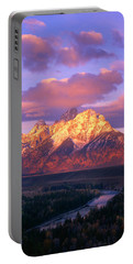 Grand Teton Sunrise Portable Battery Charger