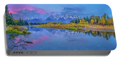 Grand Teton Sunrise Panoramic Portable Battery Charger