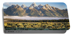 Grand Teton Sunrise Portable Battery Charger by Serge Skiba