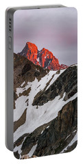 Grand Teton Sunset 2 Portable Battery Charger by Serge Skiba