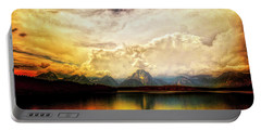 Grand Tetons - Jenny Lake No. 2 Portable Battery Charger