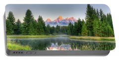 Grand Tetons Sunrise 2 Portable Battery Charger