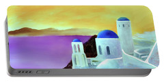 Grandeur Of Greece Portable Battery Charger