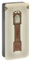 Grandfather Clock Portable Battery Charger