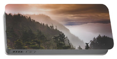 Grandfather Mountain Blue Ridge Mountains Of North Carolina Portable Battery Charger