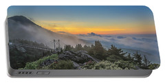 Grandfather Mountain Sunrise Portable Battery Charger