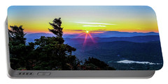 Grandfather Sundown Portable Battery Charger by Dale R Carlson