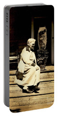 Portable Battery Charger featuring the photograph Grandma Jennie by Paul W Faust - Impressions of Light