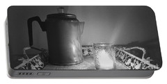 Grandmothers Vintage Coffee Pot Portable Battery Charger
