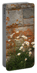 Granite Daisies Portable Battery Charger