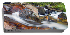 Portable Battery Charger featuring the photograph Granite Falls by Gary Lengyel