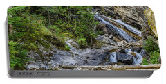 Portable Battery Charger featuring the photograph Granite Falls by Yeates Photography