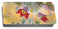 Granny Flowers Portable Battery Charger
