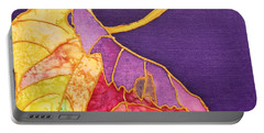 Grape Leaves Portable Battery Charger