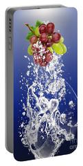 Grape Splash Portable Battery Charger