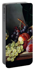 Grapes And Plums Portable Battery Charger