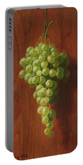 Grapes   Green Portable Battery Charger