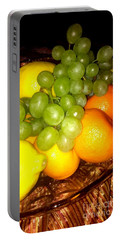 Grapes, Mandarins, Lemons Portable Battery Charger