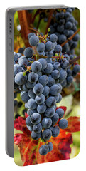 Portable Battery Charger featuring the photograph Grapevine by Jean Haynes