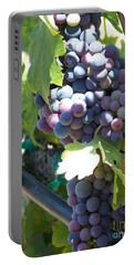 Grapevine Portable Battery Charger by Pamela Walrath