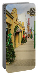 Grapevine Texas At Christmas Portable Battery Charger