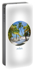 Graphic Art Relax Key West IIi Portable Battery Charger