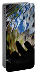 Portable Battery Charger featuring the photograph Grasping At Curves by Susan Capuano