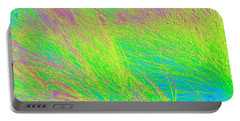 Grass Abstract 2 Portable Battery Charger