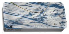 Grass Scapes In The Sand Portable Battery Charger