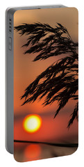 Grass Silhouette Portable Battery Charger