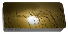 Grass Silhouettes Portable Battery Charger