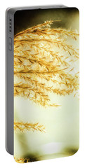 Grasses Of Gold Portable Battery Charger