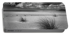 Grasses On The Beach Portable Battery Charger