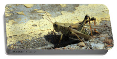 Grasshopper Laying Eggs Portable Battery Charger