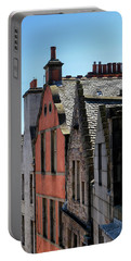 Portable Battery Charger featuring the photograph Grassmarket In Edinburgh, Scotland by Jeremy Lavender Photography