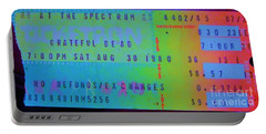 Grateful Dead - Ticket Stub Portable Battery Charger
