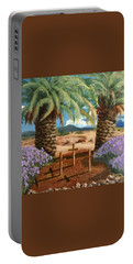 Portable Battery Charger featuring the painting Gratitude Reminder  by Bonnie Heather