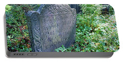 Grave Of Mary Hall Portable Battery Charger