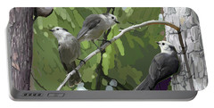 Gray Jays Group Portable Battery Charger