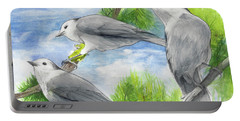 Gray Jays Trio Portable Battery Charger