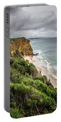 Portable Battery Charger featuring the photograph Gray Skies by Perry Webster