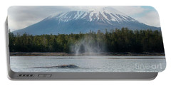 Gray Whale, Mount Edgecumbe Sitka Alaska Portable Battery Charger