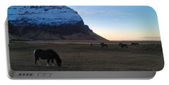 Grazing At Dawn Portable Battery Charger