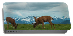 Grazing In The Clouds Portable Battery Charger