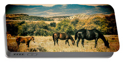 Grazing Portable Battery Charger by Fred Larson