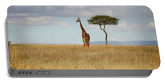Grazing Giraffe Portable Battery Charger