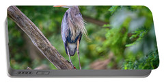 Great Blue Heron 2 Portable Battery Charger